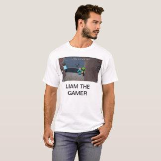 Camiseta Liam el videojugador