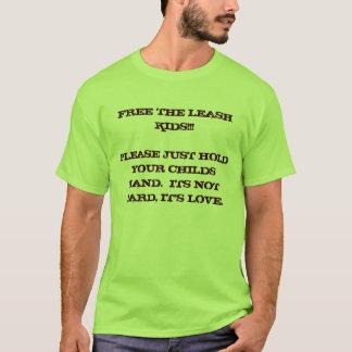 Camiseta Libere a los niños del correo