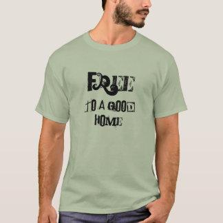 Camiseta Libere a un buen hogar