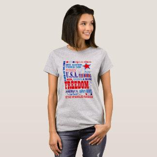 Camiseta Libertad americana