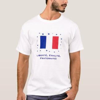 Camiseta ¡Liberté, Egalité, Fraternité!