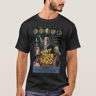 Camiseta Libertino del mutante del ESTILO de Marte una