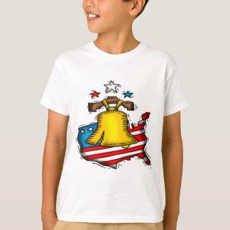 Camiseta Liberty Bell patriótico