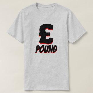 Camiseta libra esterlina del £, gris