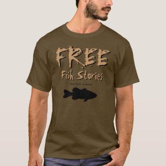 Camiseta libre de las historias de los pescados