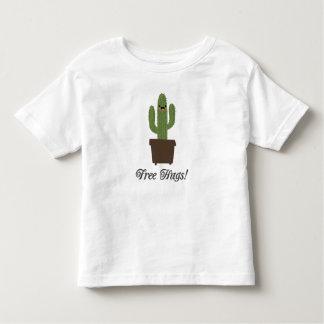 Camiseta libre del niño de los abrazos el   del