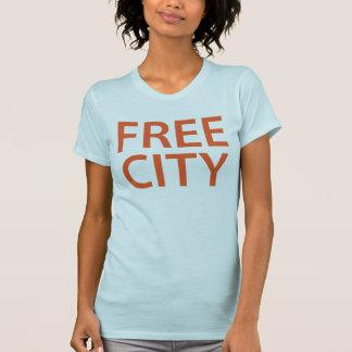 Camiseta libre Tumblr de la ciudad