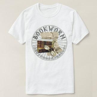 Camiseta Libros viejos del ratón de biblioteca divertido