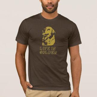 Camiseta Life´s de oro