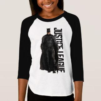 Camiseta Liga de justicia el   Batman en campo de batalla