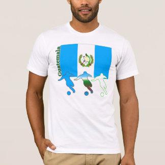 Camiseta ligera de Guatemala del fútbol