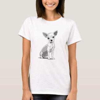 Camiseta ligera de la chihuahua