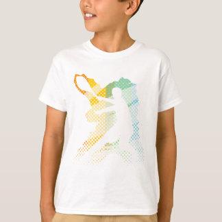 Camiseta ligera del tenis para los hombres, las