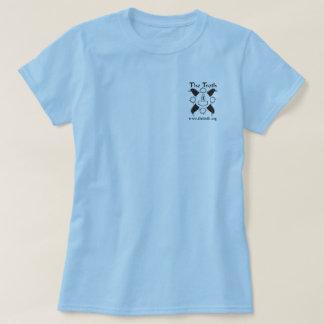 Camiseta ligera vertical del B&W de las mujeres