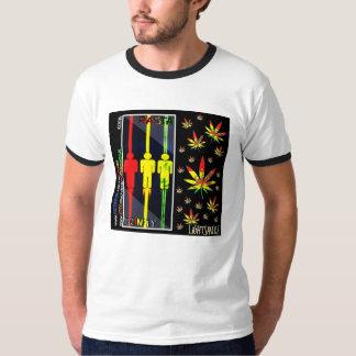 Camiseta/LiGHTSHiRTZ de la trinidad de Rasta por Camiseta