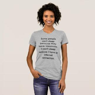 Camiseta linada del sueño