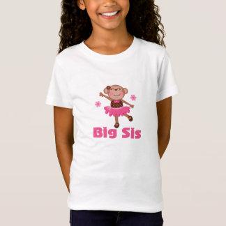 Camiseta linda de la bailarina de la hermana