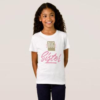 Camiseta linda de la hermana grande - impresión