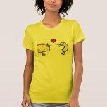 Camiseta linda de los macarrones y del queso