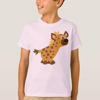 Camiseta linda de los niños del Hyena del dibujo