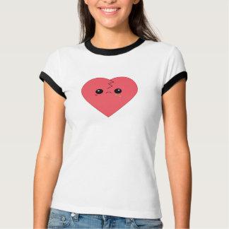 Camiseta linda del campanero del corazón quebrado