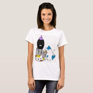 Camiseta linda del gatito