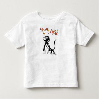 Camiseta linda del mono