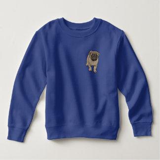 Camiseta linda del paño grueso y suave del niño