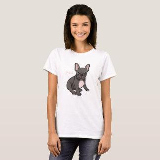 Camiseta linda y divertida del dogo francés