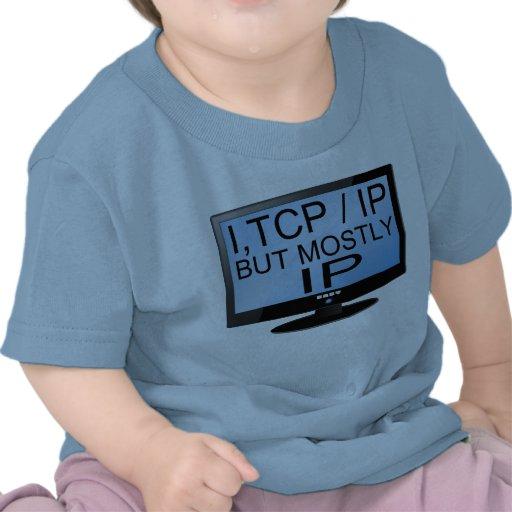 Camiseta linda y divertida del niño del friki del