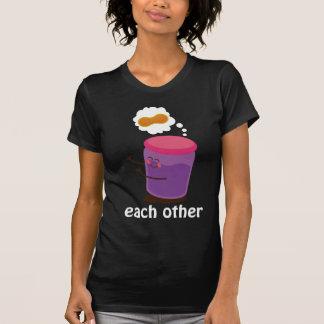 Camiseta Lindo de los pares hecho para uno a