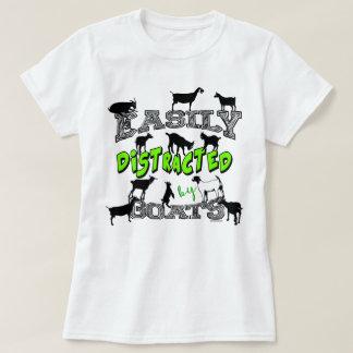 Camiseta Lindo del HUMOR el | de la CABRA distraído