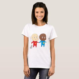 Camiseta Lindo divertido joven del St. Nick San Nicolás