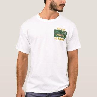 Camiseta Línea pescadores de la caída de la mosca