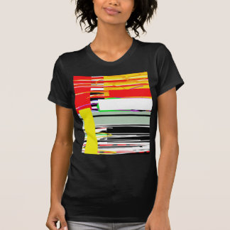 Camiseta Líneas y cuadrados