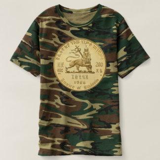 Camiseta Lion of Judah - Jah Army oro Rasta reggae Shirt -