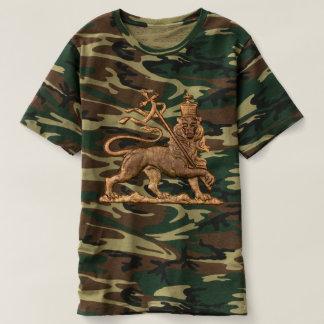 Camiseta Lion of Judah Shirt - Jah Army Haile Selassie -