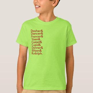 Camiseta listas del reno