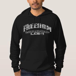 Camiseta litoral de la libertad de la nave de