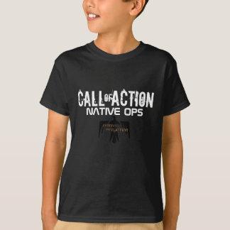 Camiseta Llamada del natural Ops de la acción