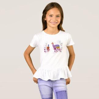 Camiseta Llamas
