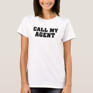 Camiseta Llame mi agente
