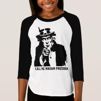 Camiseta Llámeme señora presidente
