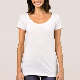 Camiseta llana siguiente del escote redondo de las