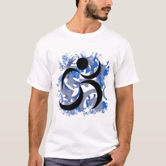 Camiseta Llano de funcionamiento del hombre de Parkour