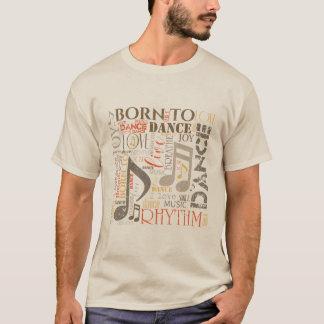 Camiseta Llevado bailar el naranja/a Brown ID277
