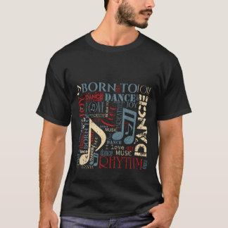 Camiseta Llevado bailar ID277 azul