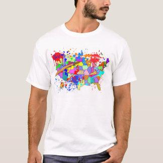 Camiseta ¡Llevado en los E.E.U.U.! Edición fresca de la