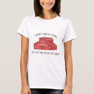 Camiseta Llevado en un granero
