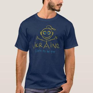 Camiseta Llevado estar libre en Ucrania